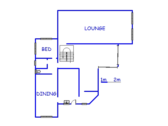 Floor plan of the property in Mobeni Heights