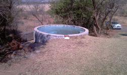 Backyard of property in Buffelspoort