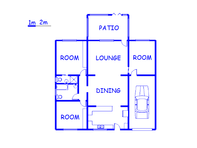 Floor plan of the property in Howick