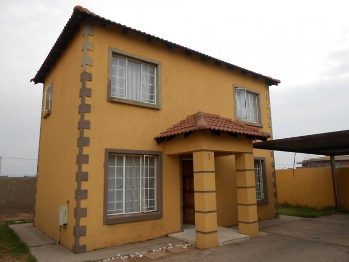 3 Bedroom Duplex for Sale For Sale in Germiston - Home Sell - MR118065