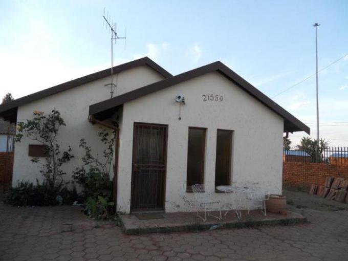 Standard Bank EasySell 3 Bedroom House for Sale For Sale in Mamelodi - MR118123