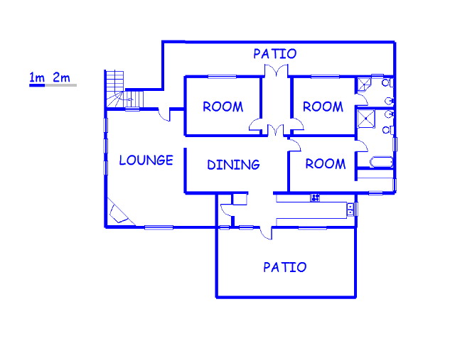 Floor plan of the property in Nottingham Road