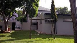 Backyard of property in Waterkloof