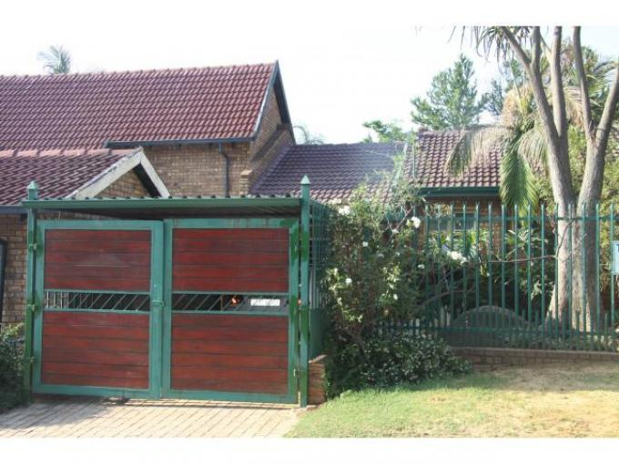 3 Bedroom House to Rent To Rent in Garsfontein - Private Rental - MR120026