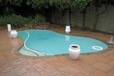 Backyard of property in Durbanville Hills