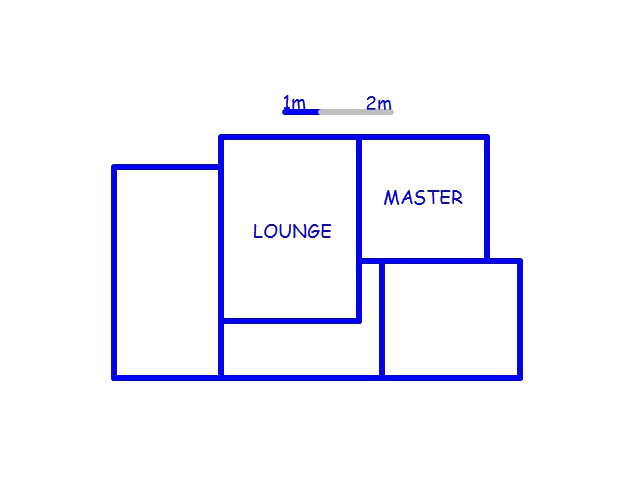 Floor plan of the property in Esikhawini