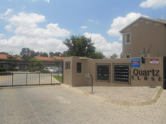 Standard Bank EasySell 2 Bedroom Apartment For Sale in Ormonde - MR120537