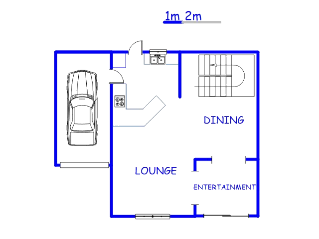 Floor plan of the property in Bendor