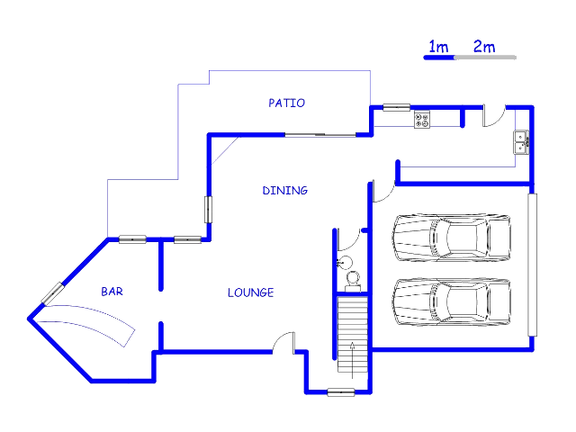 Floor plan of the property in Woodhill Estate