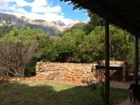 Backyard of property in Tulbagh