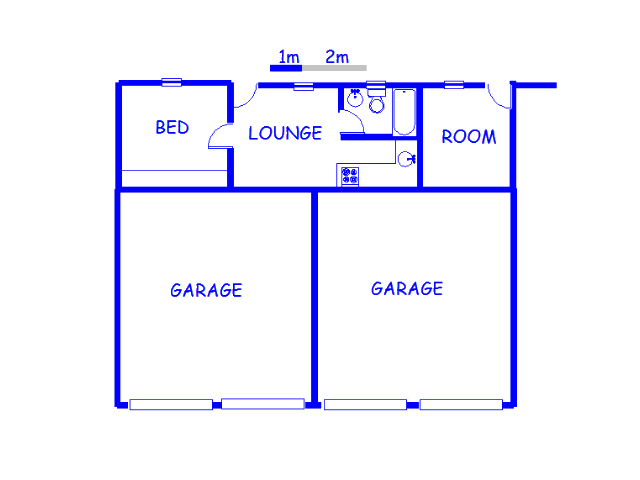 Floor plan of the property in Glen Donald A.H