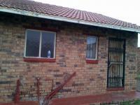 Backyard of property in Kwa-Thema