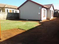 Backyard of property in Protea Glen