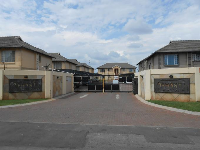 Standard Bank EasySell 2 Bedroom Apartment for Sale For Sale in Brakpan - MR121525