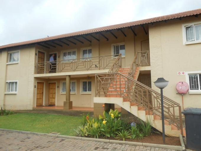 2 Bedroom Apartment for Sale and to Rent For Sale in Centurion Central (Verwoerdburg Stad) - Home Sell - MR121608