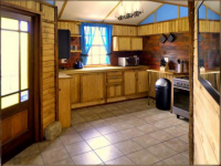 Kitchen of property in Clarens