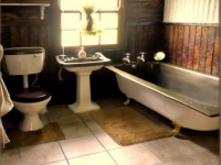 Main Bathroom of property in Clarens