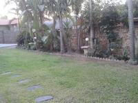 Garden of property in Nelspruit Central