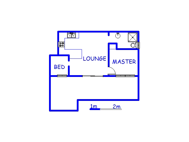 Floor plan of the property in Elysium