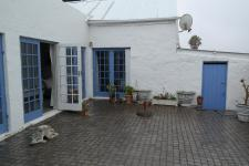 Patio of property in Bredasdorp