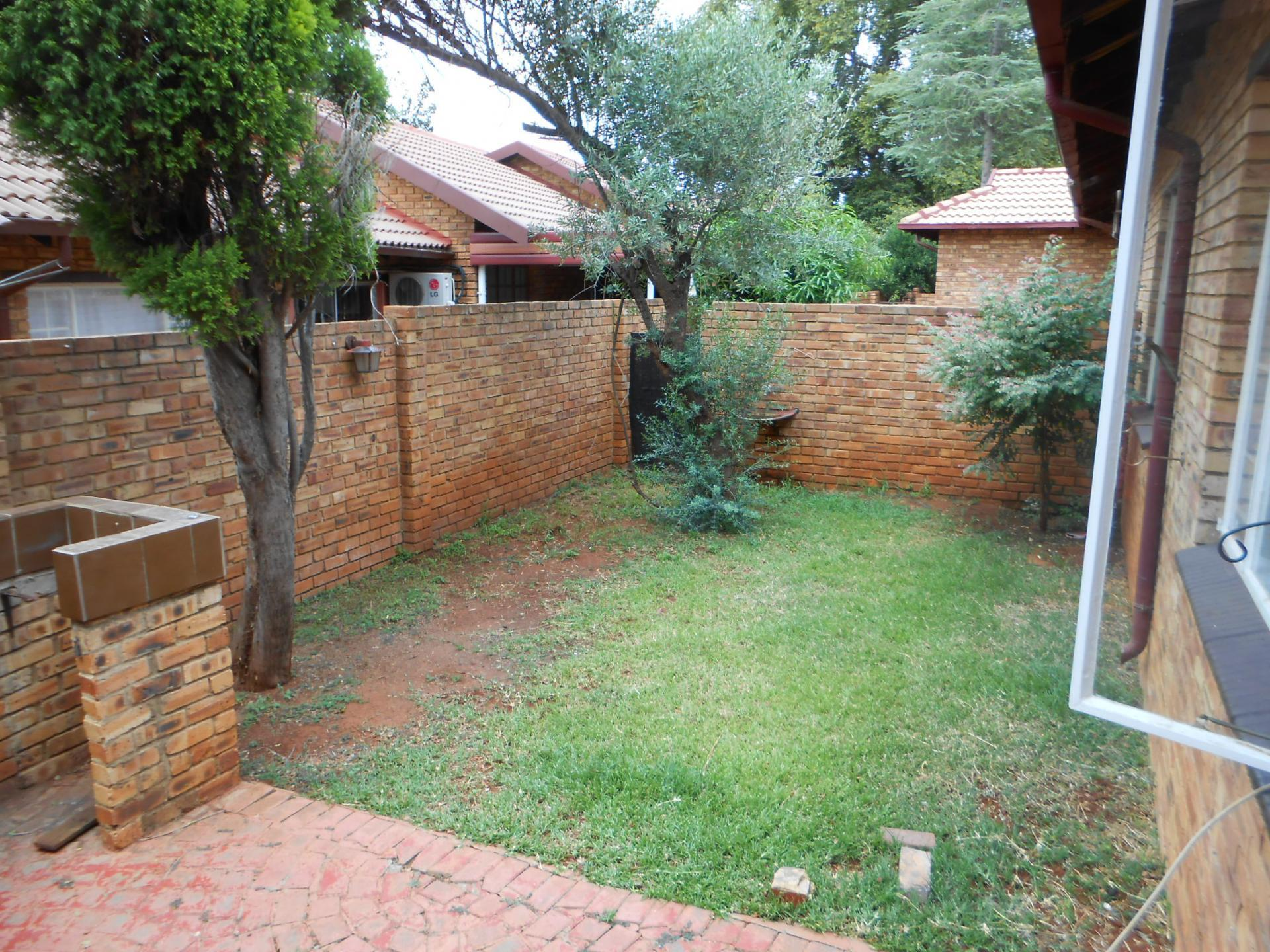 Backyard of property in Safari Tuine