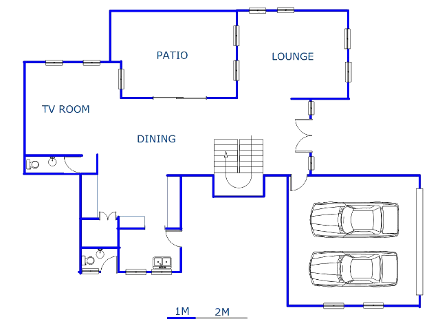 Floor plan of the property in Heron Hill Estate