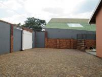 Backyard of property in Lenasia