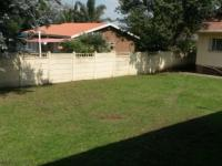 Backyard of property in Vryheid