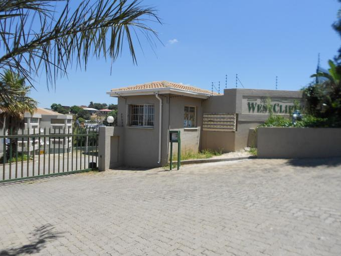 Standard Bank EasySell 2 Bedroom Apartment for Sale For Sale in Discovery - MR123984