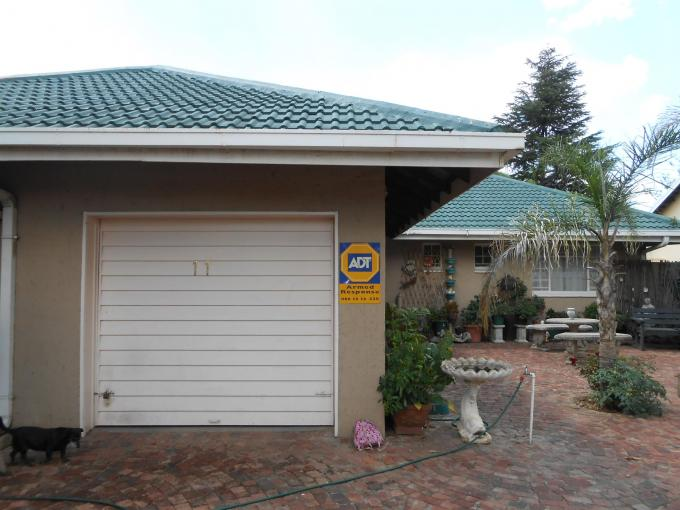 4 Bedroom House for Sale For Sale in Vaalpark - Private Sale - MR124163