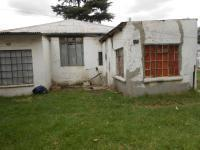 Backyard of property in Benoni