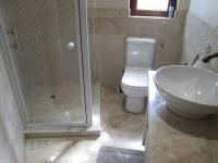 Main Bathroom - 18 square meters of property in Sandton