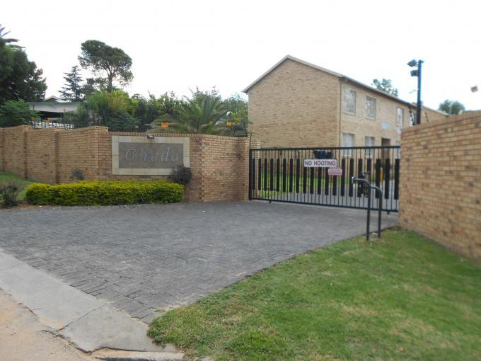2 Bedroom Simplex For Sale in Ferndale - JHB - Home Sell - MR124405
