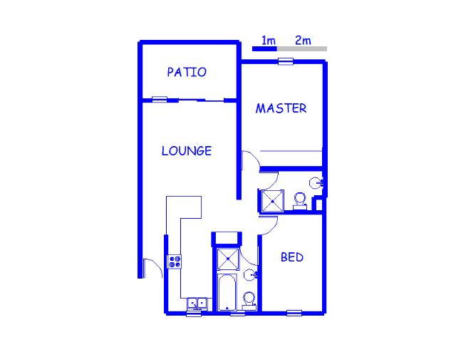 Floor plan of the property in Ravenswood