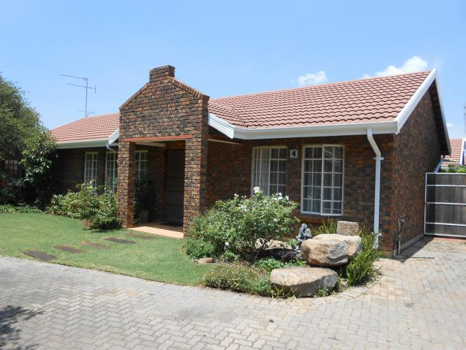 1 Bedroom Retirement Home For Sale in Vereeniging - Home Sell - MR124676