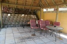Patio of property in Fish Hoek
