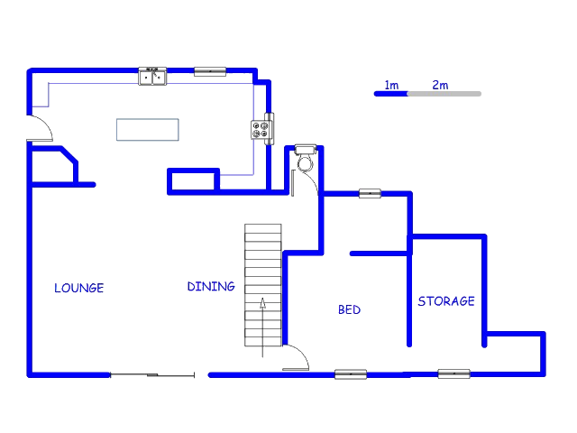 Floor plan of the property in Chartwell A.H.