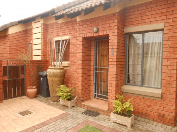 3 Bedroom House for Sale For Sale in Eco-Park Estate - Home Sell - MR125265