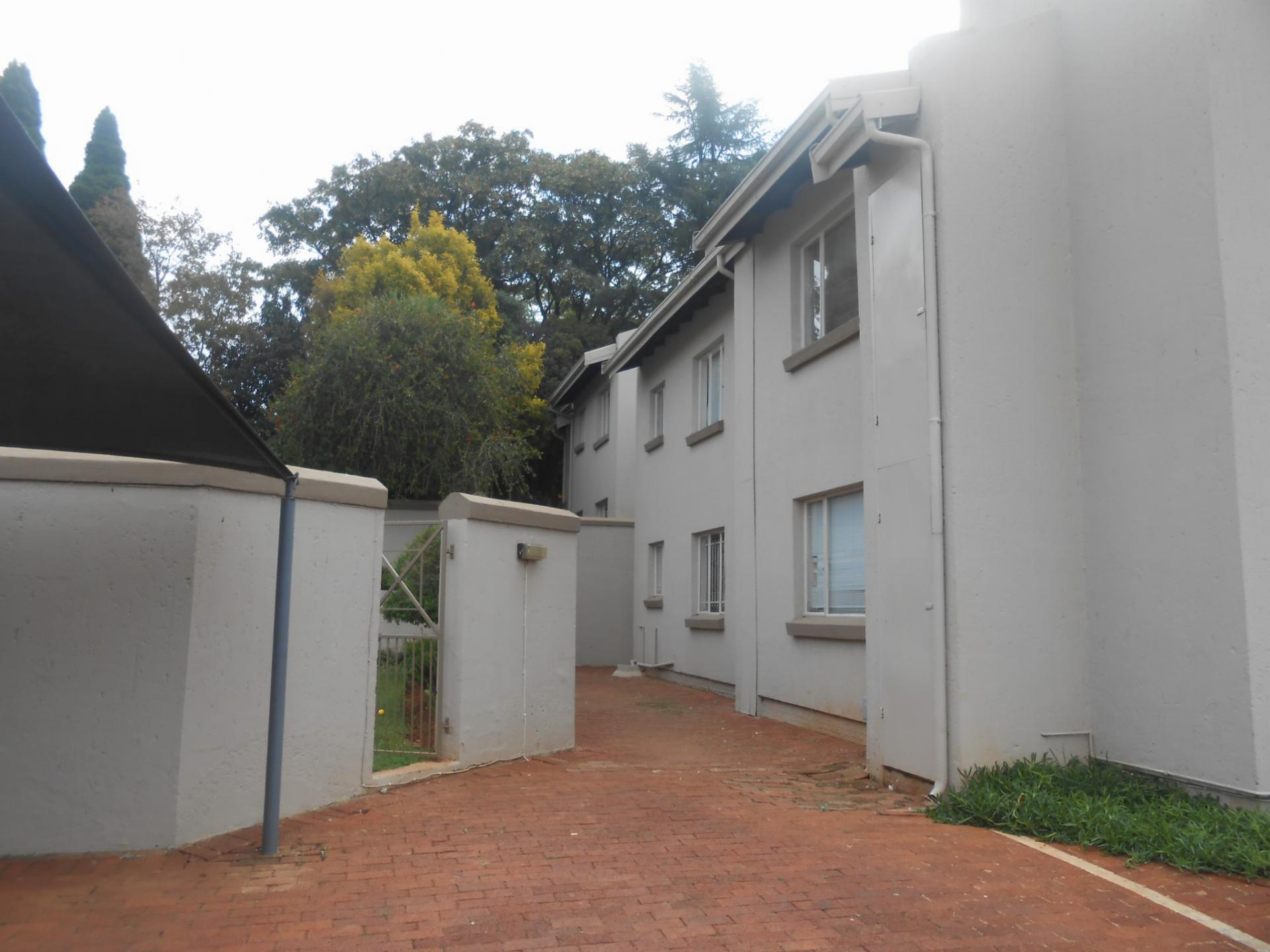 Front View of property in Westdene (JHB)
