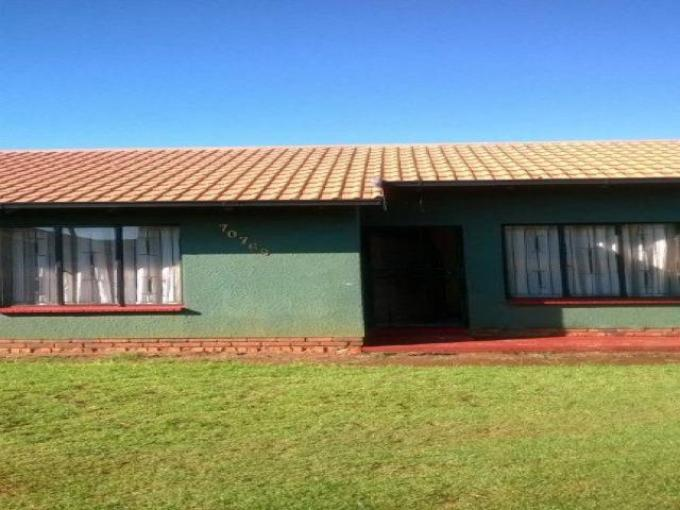Standard Bank EasySell 2 Bedroom Cluster For Sale in Sebokeng - MR125422