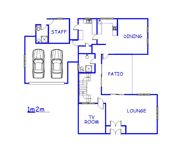 Floor plan of the property in Boardwalk Manor Estate
