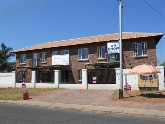 2 Bedroom Cluster for Sale For Sale in Daspoort - Private Sale - MR126322