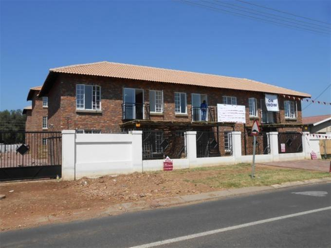 2 Bedroom Cluster For Sale in Daspoort - Home Sell - MR126355