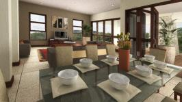Dining Room - 14 square meters of property in The Ridge Estate