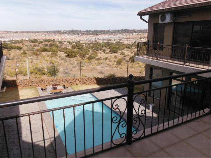 Balcony of property in Bloemfontein