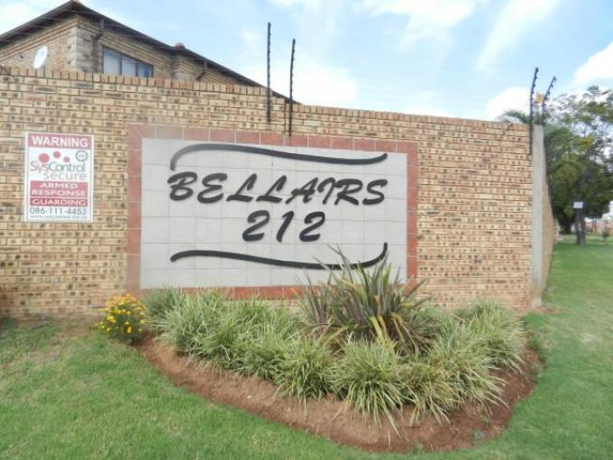 Standard Bank EasySell 3 Bedroom Sectional Title for Sale For Sale in Sharonlea - MR126989