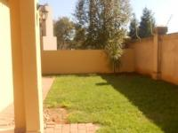 Backyard of property in Silver Stream Estate