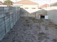 Backyard of property in Athlone - CPT