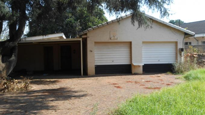 Standard Bank EasySell 3 Bedroom Cluster for Sale For Sale in Witfield - MR127616