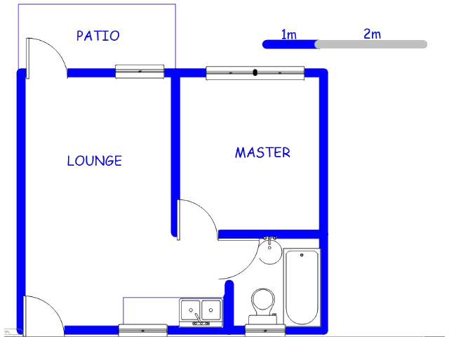 Floor plan of the property in Bramley View
